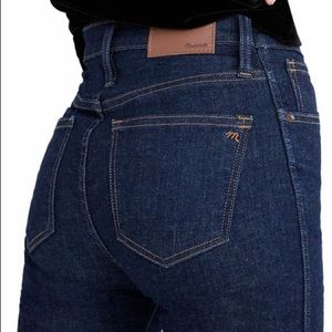 "Madewell 10"" High-Rise Skinny Jeans |NWT SZ 29"